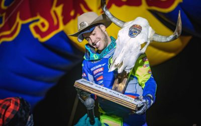Mario Roman takes the last victory of the year at the Red Bull Override Hard Enduro!